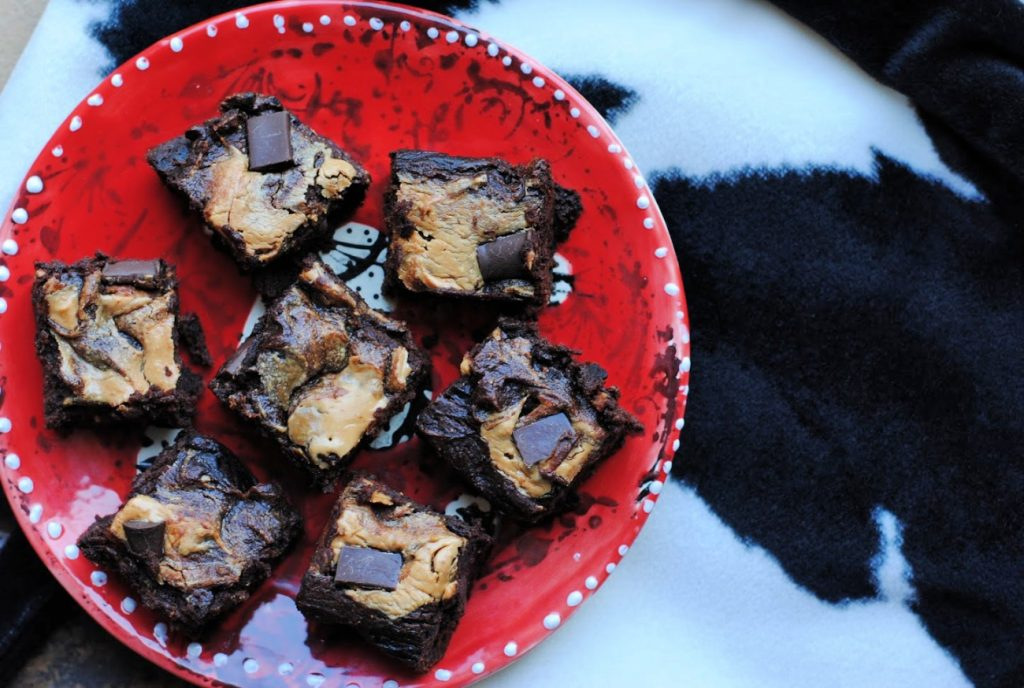 Easy healthy pumpkin brownies (gluten free)