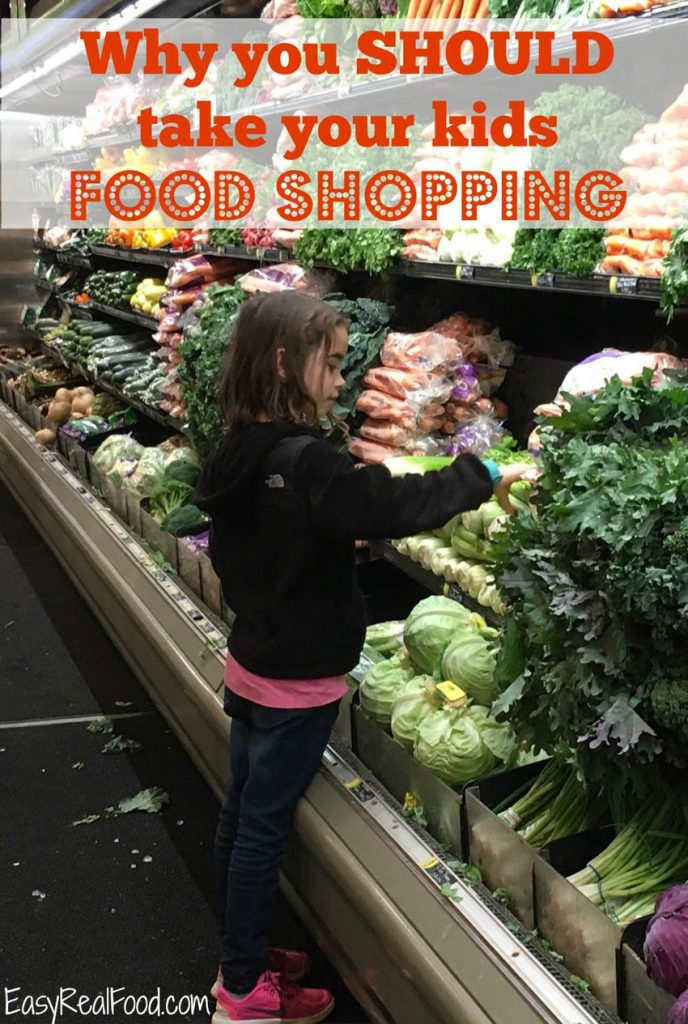 Why you should take your kids grocery shopping