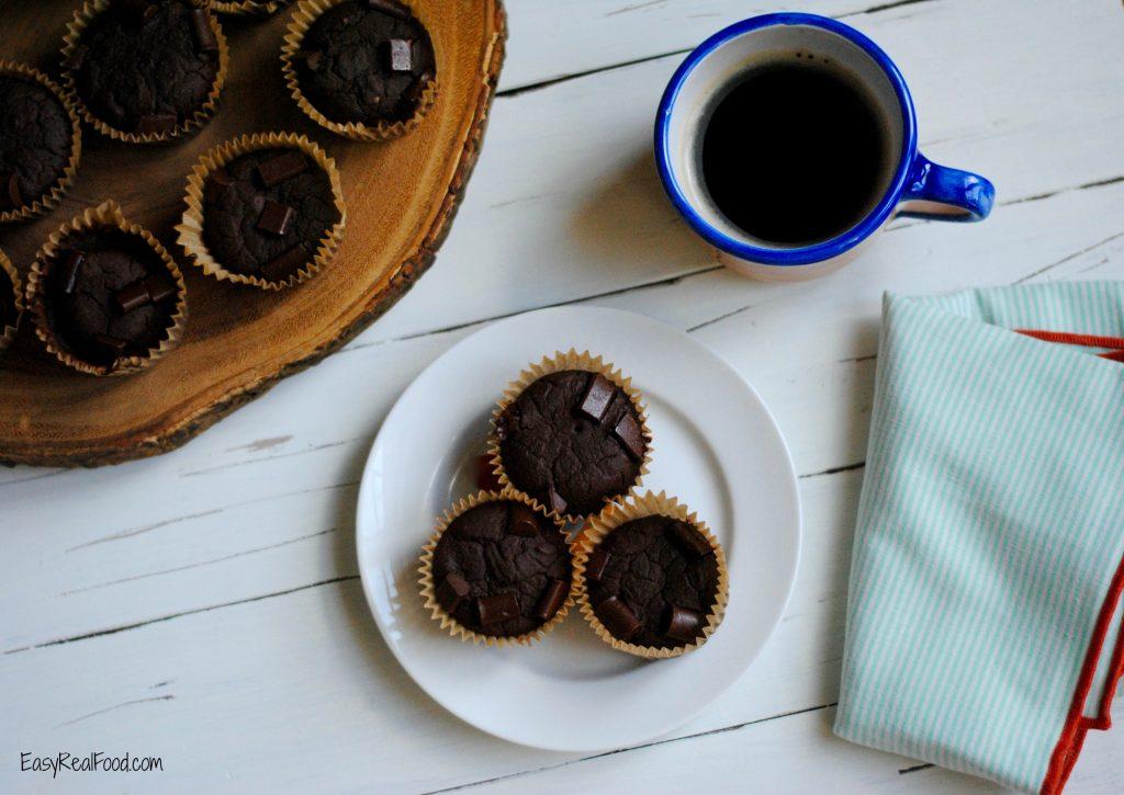 Gluten free black bean muffin recipe.