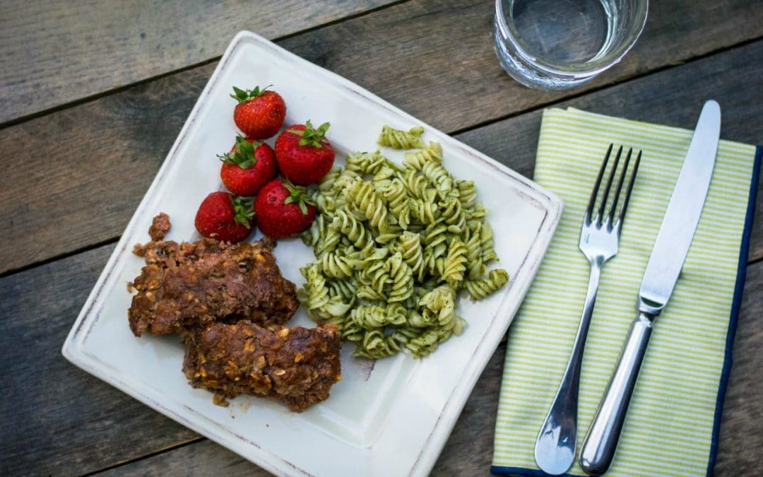 Healthy Meatloaf Recipe with Oatmeal (GF)