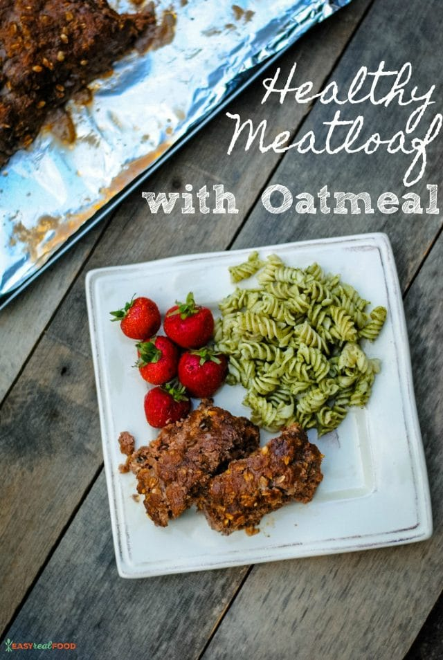 Healthy Meatloaf Recipe with Oatmeal