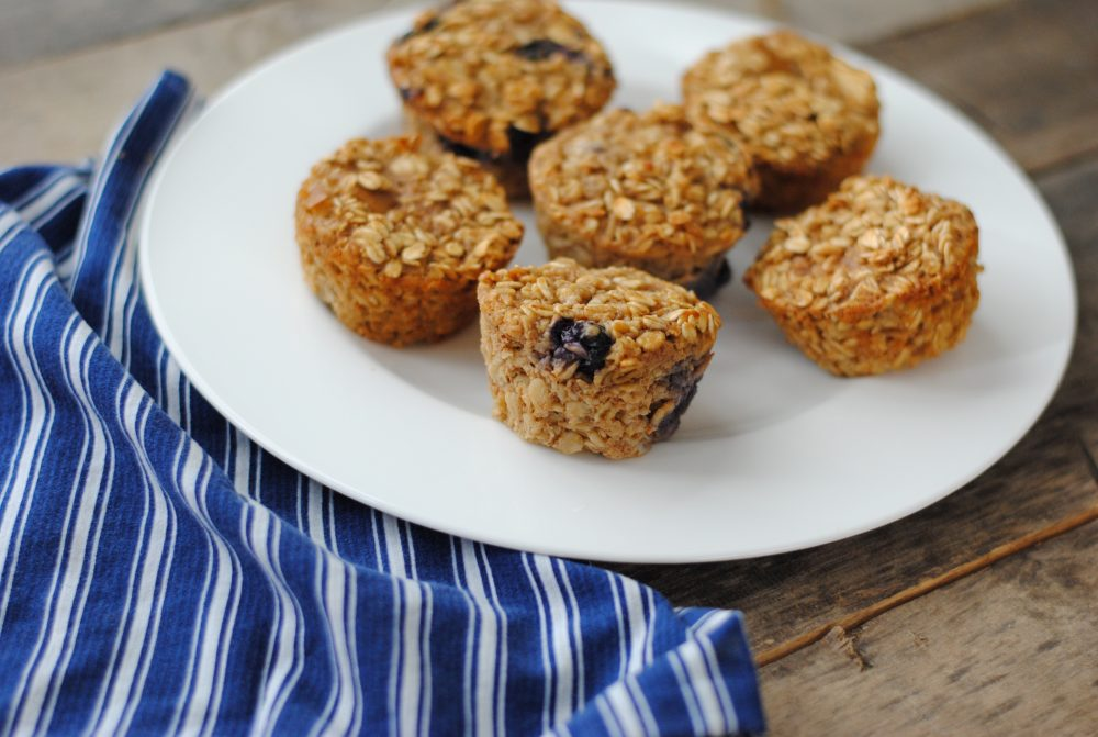 Baked Oatmeal Cups: A Healthy Gluten Free Snack