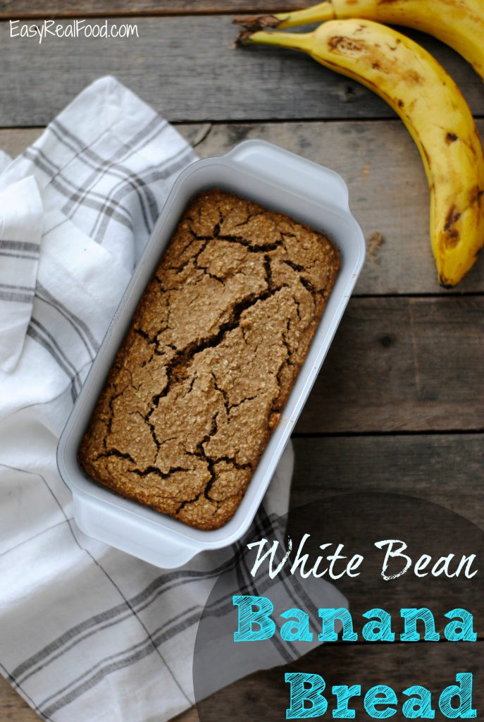 White Bean Banana Bread