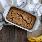 A gluten free recipe for White bean banana bread.