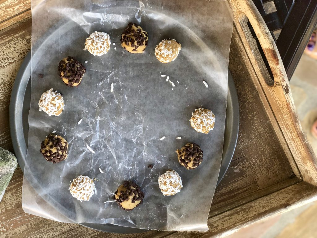Delicious and refined sugar-free three ingredient protein bites