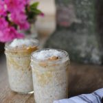 An easy recipe for coconut almond overnight oats