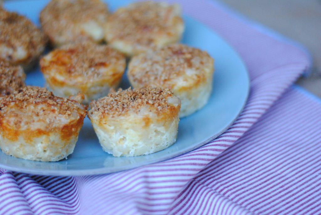 Mac and cheese bites - tasty mac and cheese muffins