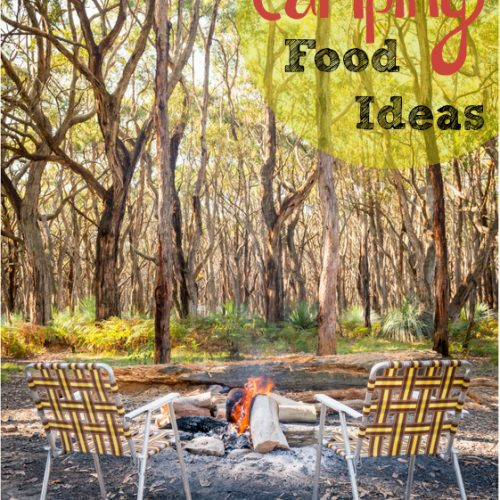 Going camping? This is a must read for easy camping food ideas!