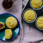 Gluten Free Corn Muffins Sweetened with Honey