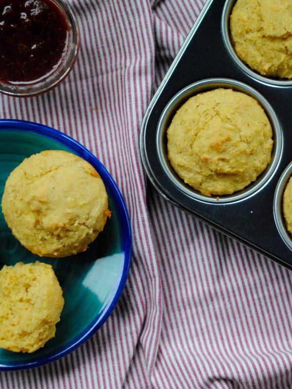 Corn Muffins With Honey