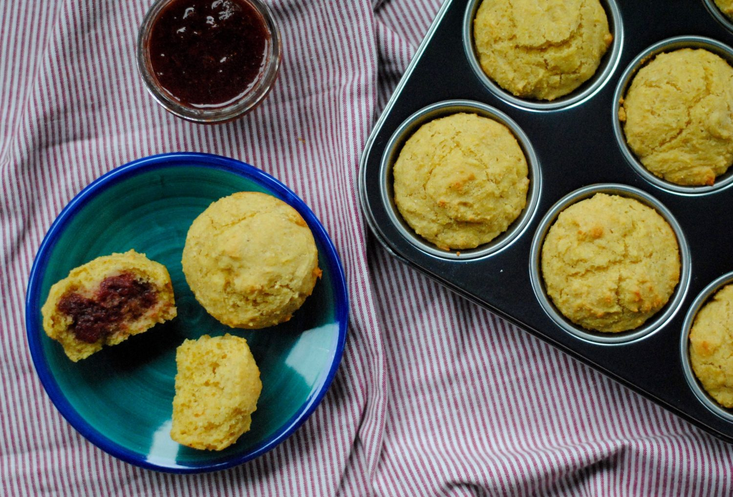 Corn Muffins With Honey