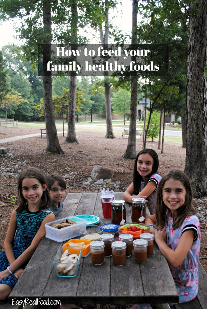 How to feed your family healthy foods