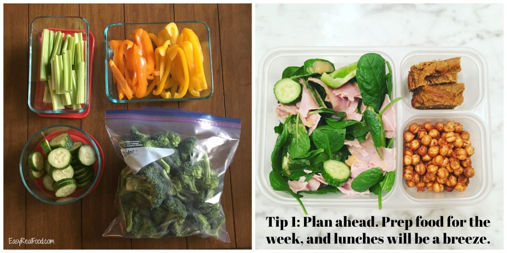 Planning ahead helps you get healthy foods on the table.