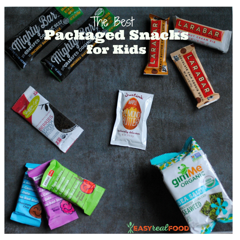 The best packaged snacks for kids - #glutenfree #healthysnacks