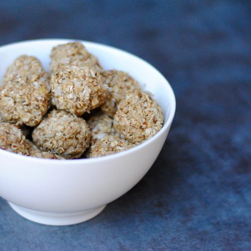 Tasty and easy energy balls