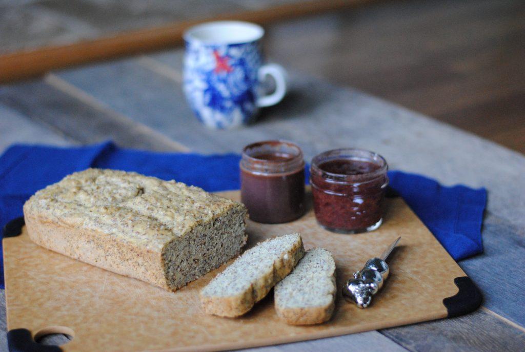 Healthy and fast gluten free bread recipe