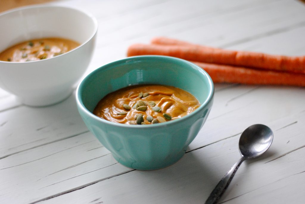 Instant Pot Carrot Soup - delicious and nutritious