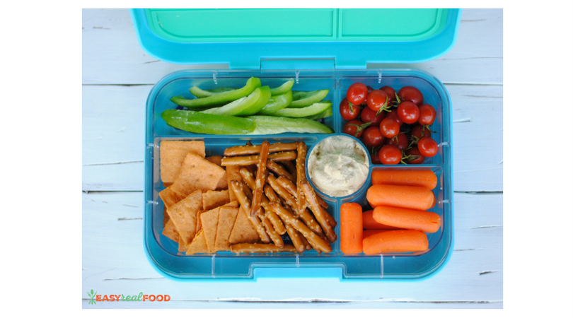 Packed Lunch #3: Hummus Dipper Lunch