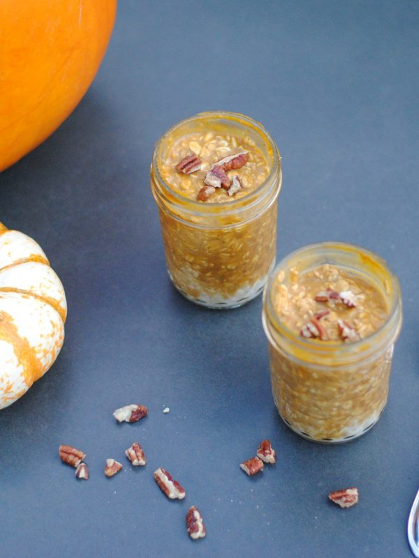 Easy Pumpkin Overnight Oats