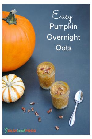 easy pumpkin overnight oats