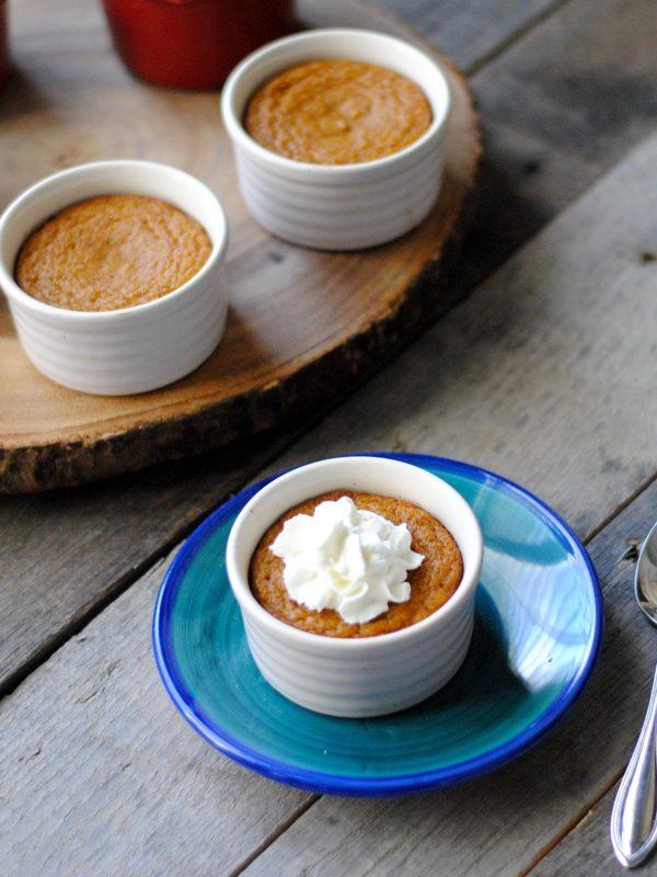 Crustless Mini Pumpkin Pies (Gluten-free, Dairy-Free)
