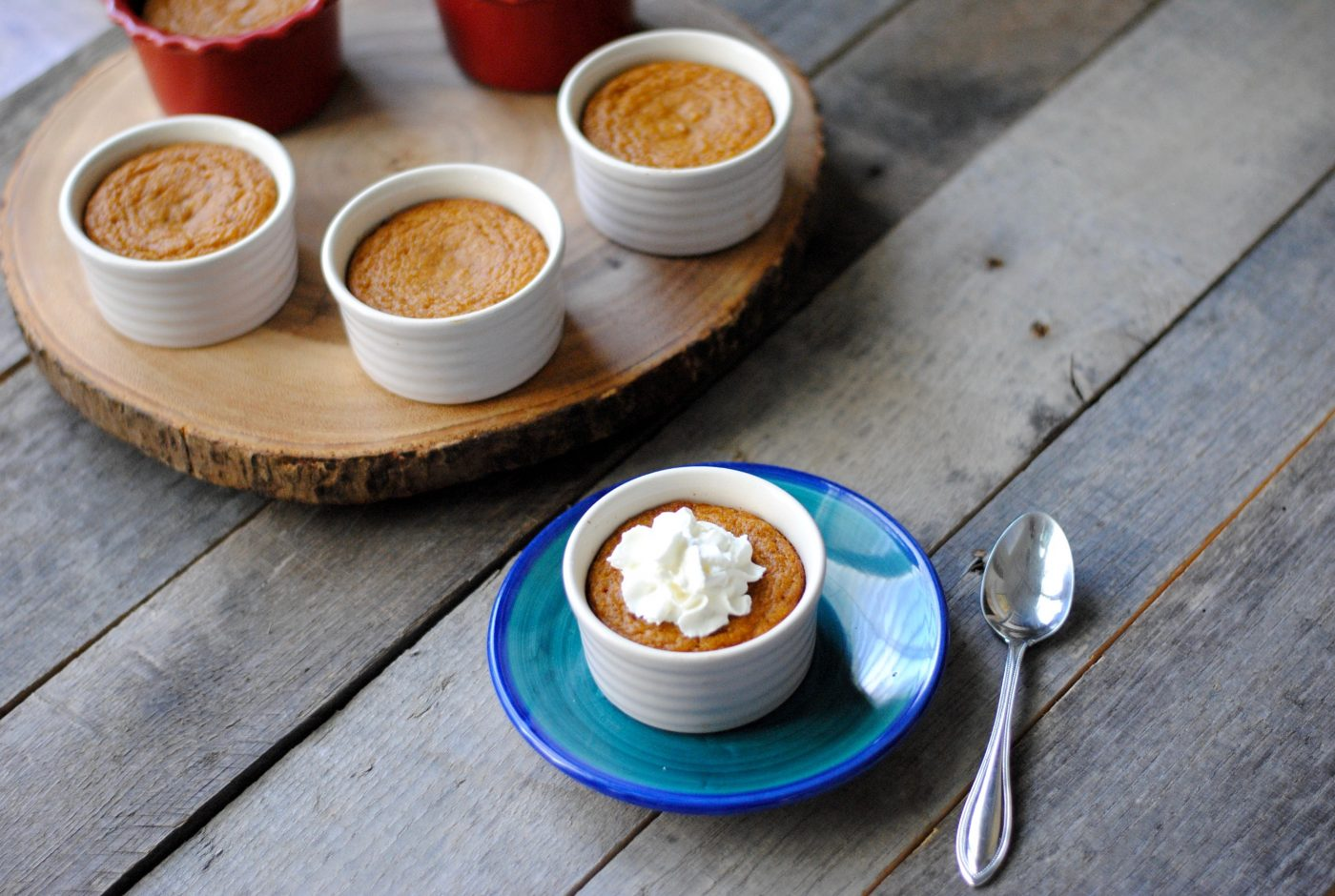 Crustless Mini Pumpkin Pies (Gluten-free, Dairy-Free)
