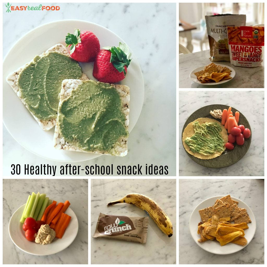 30 healthy after-school snack ideas