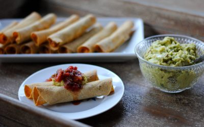 Easy Baked Taquitos (Gluten-Free)