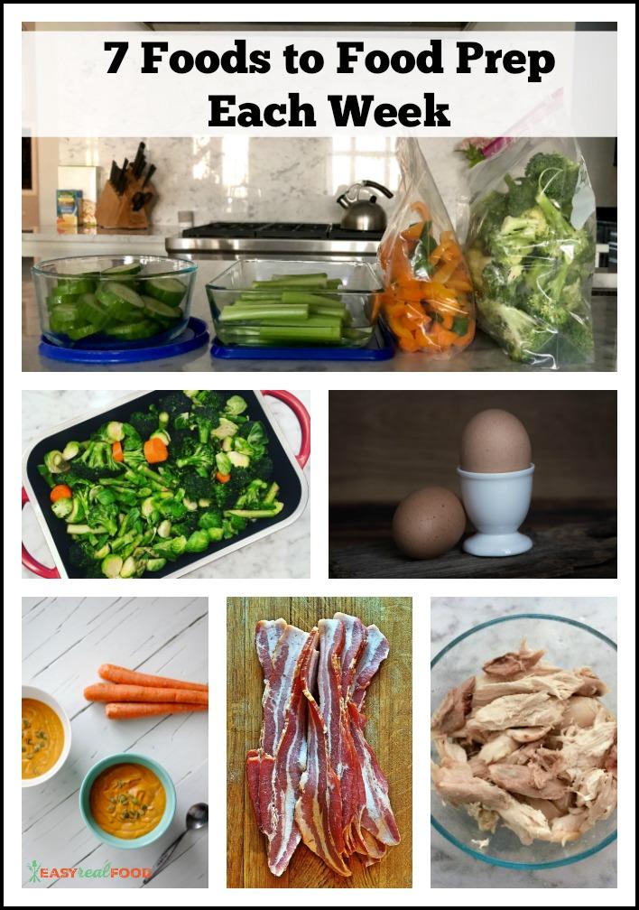 Food Prep Each Week