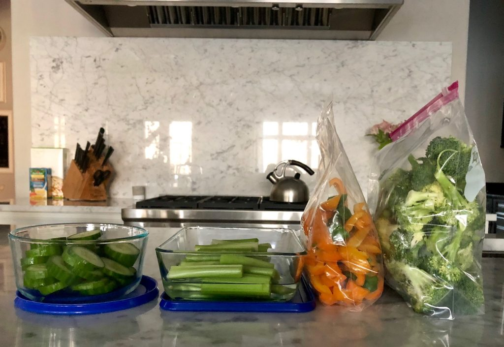 How to food prep each week