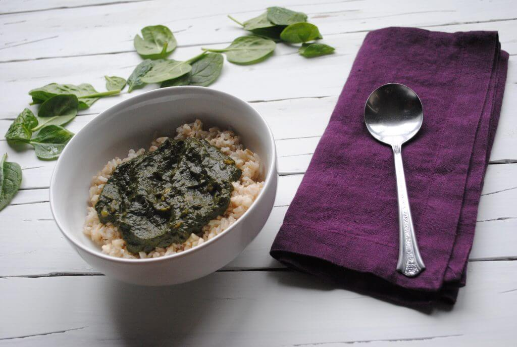 Indian Spinach is a super nutritious dish that can be made in the Instant Pot.