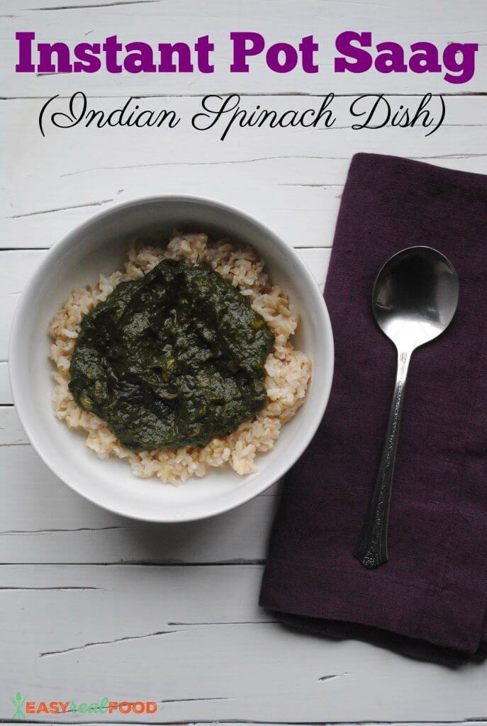 Indian Spinach Dish
