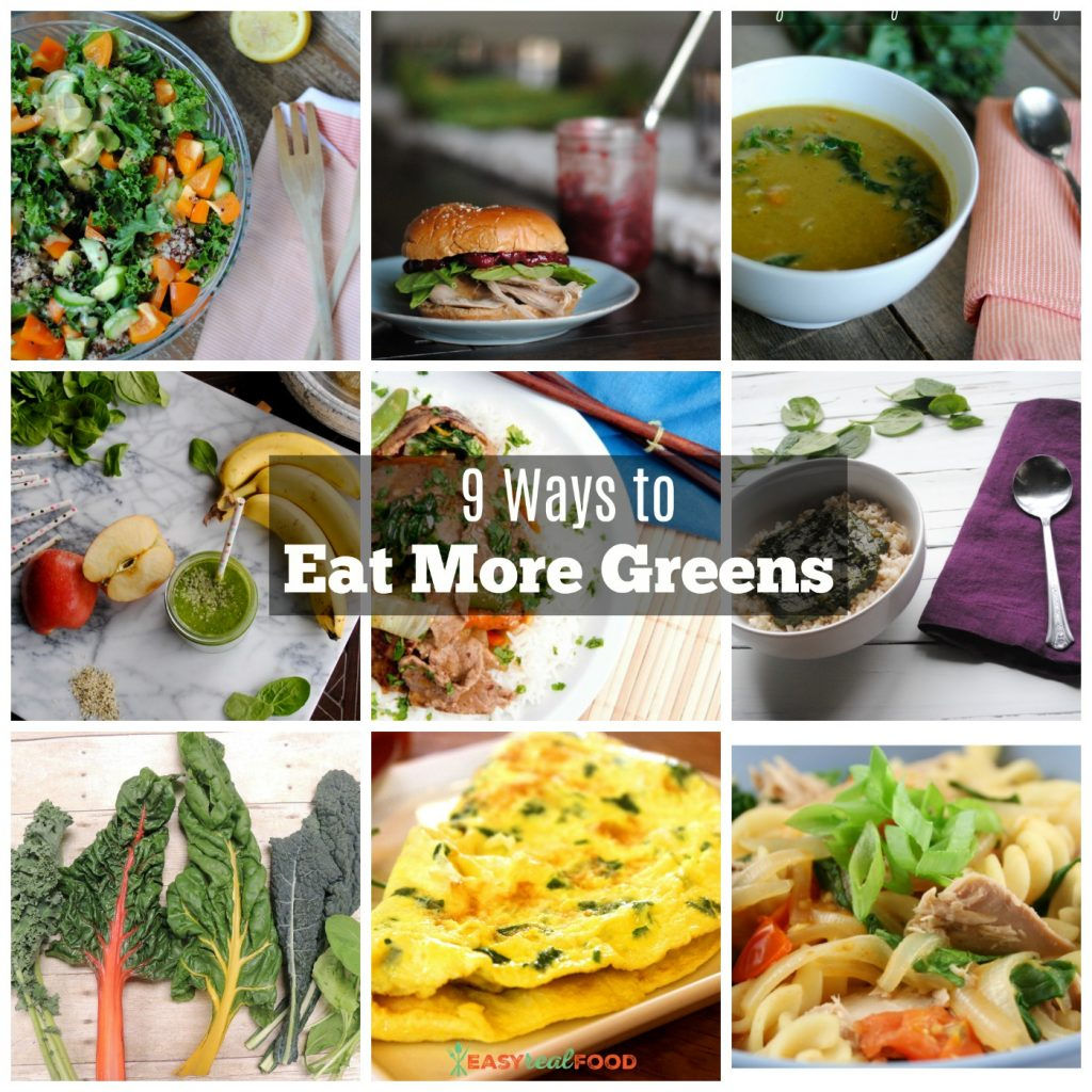 9 ways to eat more greens