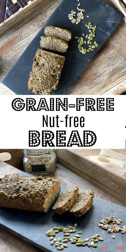 grain free nut free bread recipe