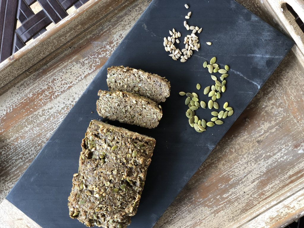 Easy Grain free nut free bread #nutfree #paleo #glutenfree