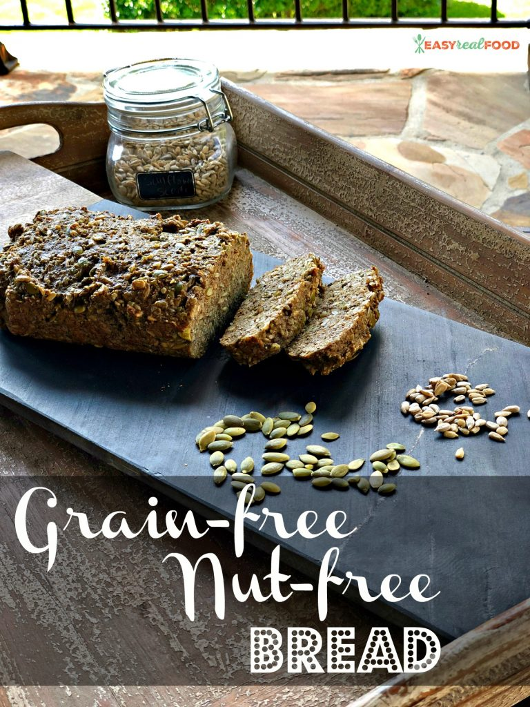 grain free nut free bread