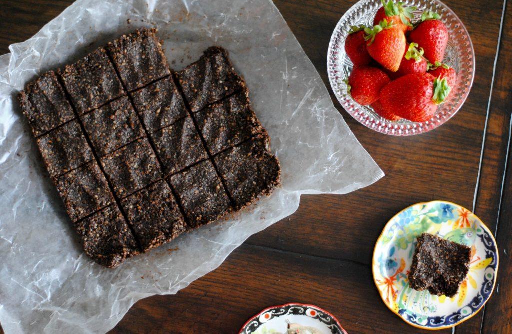 No Bake Grain Free Brownies (Vegan)