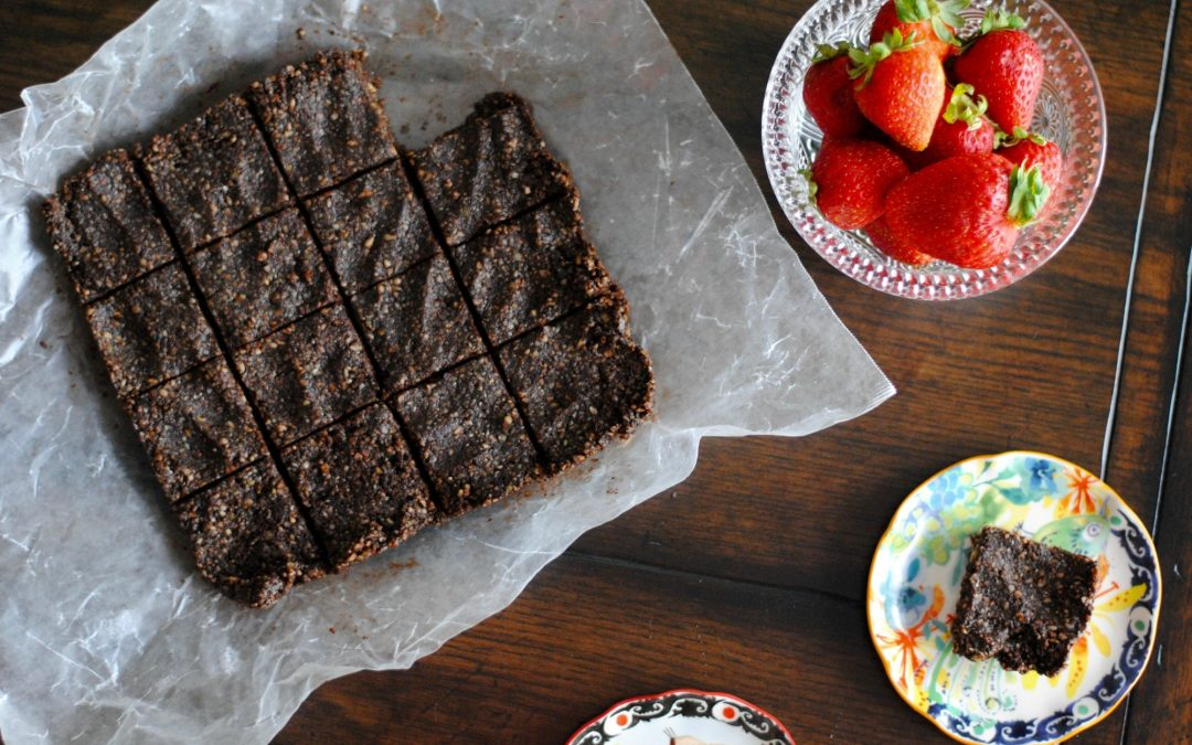 No Bake Grain Free Brownies (Vegan)