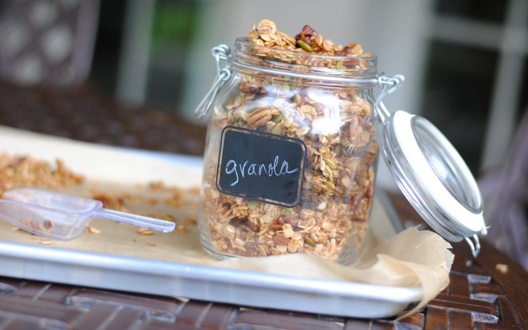 Healthy Pumpkin Pie Granola Recipe + A Story of Friendship