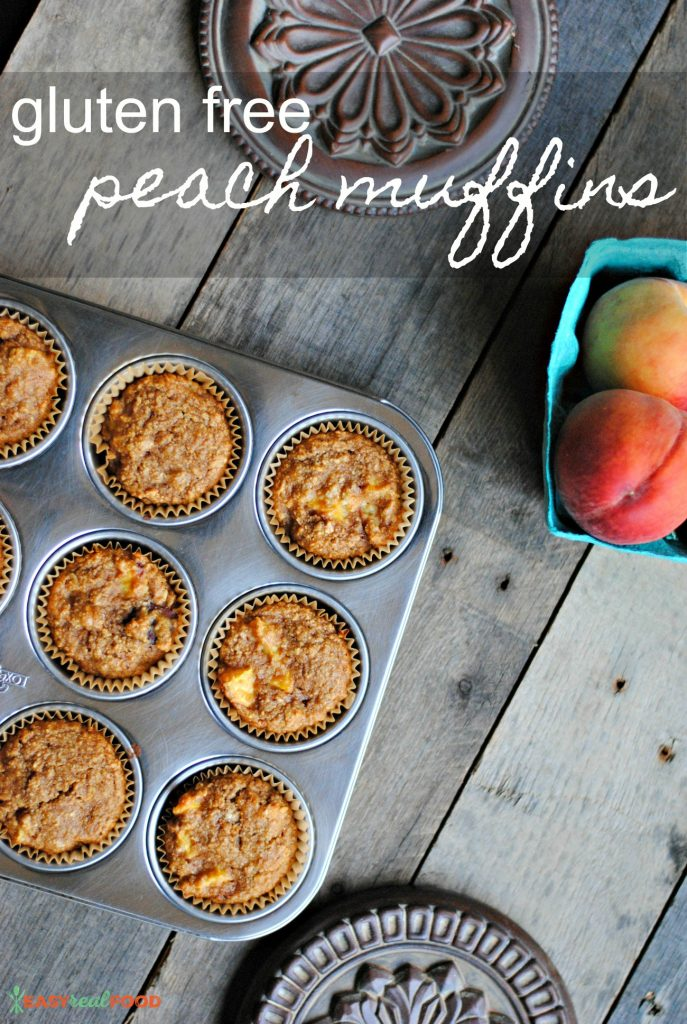 Gluten Free Peach Muffin Recipe