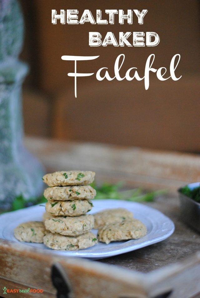 healthy baked gluten free falafel recipe