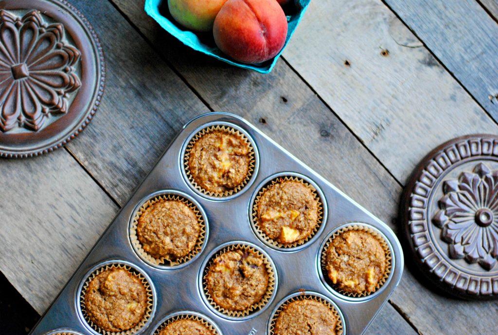 Gluten Free Peach Muffin Recipe Almond Flour