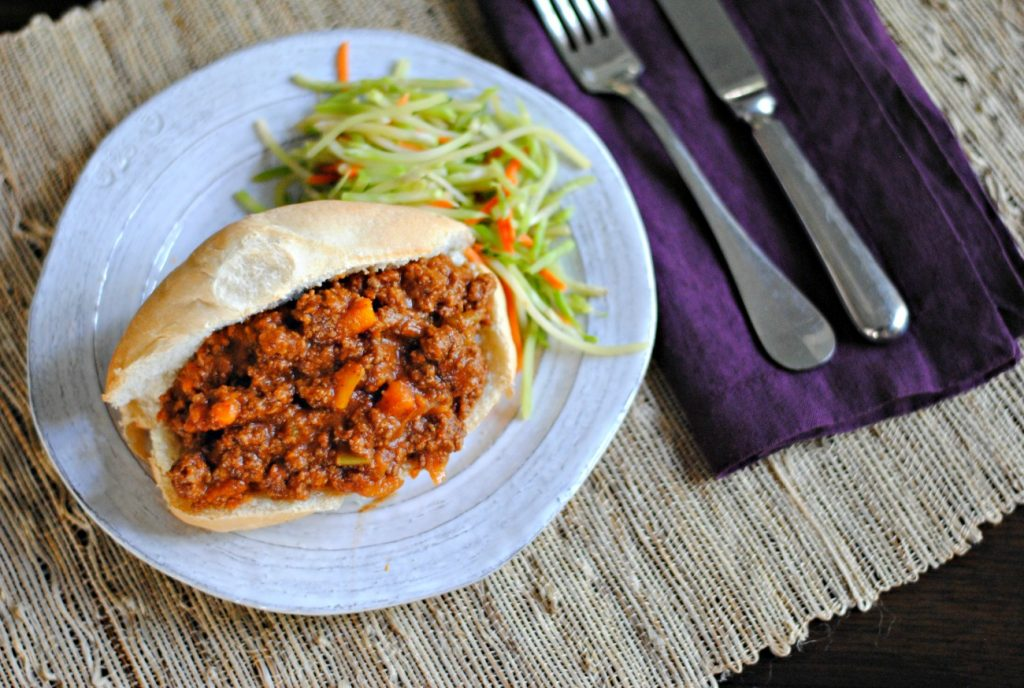 Instant Pot Sloppy Joes - unprocessed, real food sloppy joes made in a pressure cooker