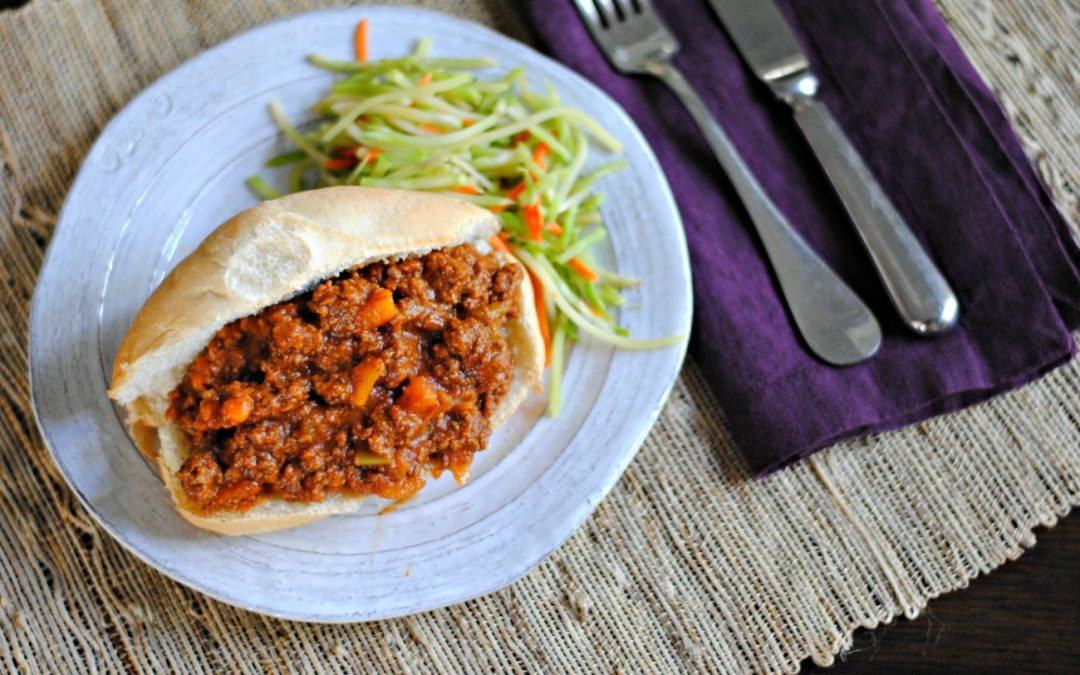 Paleo Instant Pot Sloppy Joes