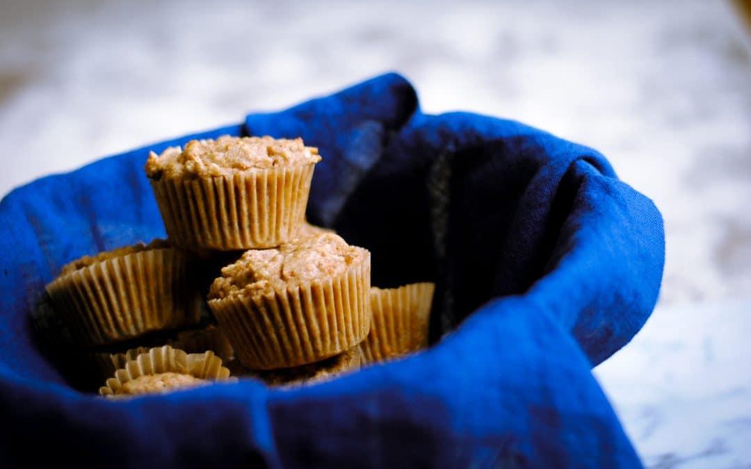 Gluten-Free Carrot Coconut Muffins