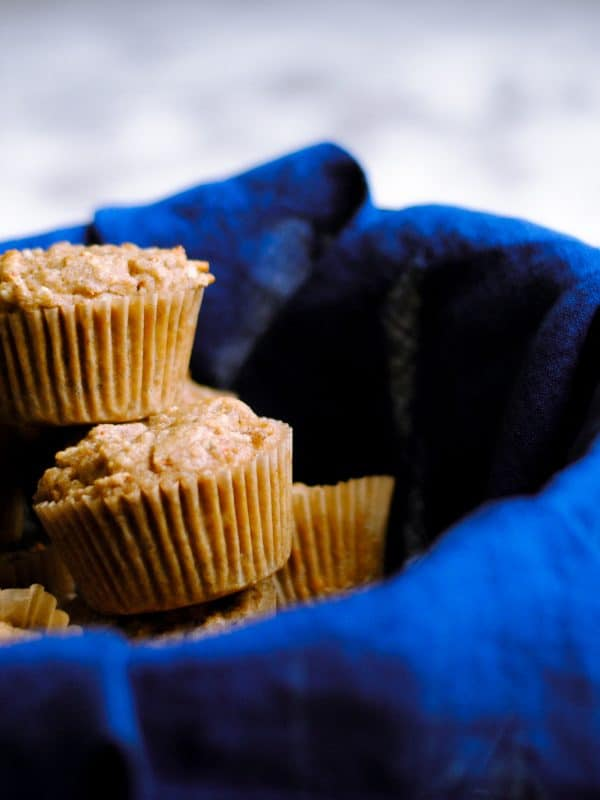Gluten Free Carrot Coconut Muffins