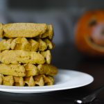 Fluffy grain free pumpkin waffles