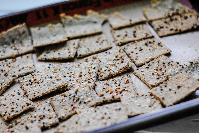 Nut free paleo crackers