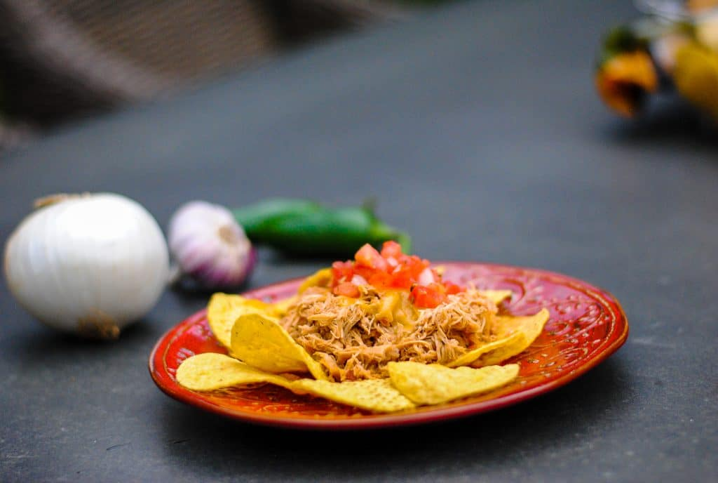 Mexican chicken made in the crock pot