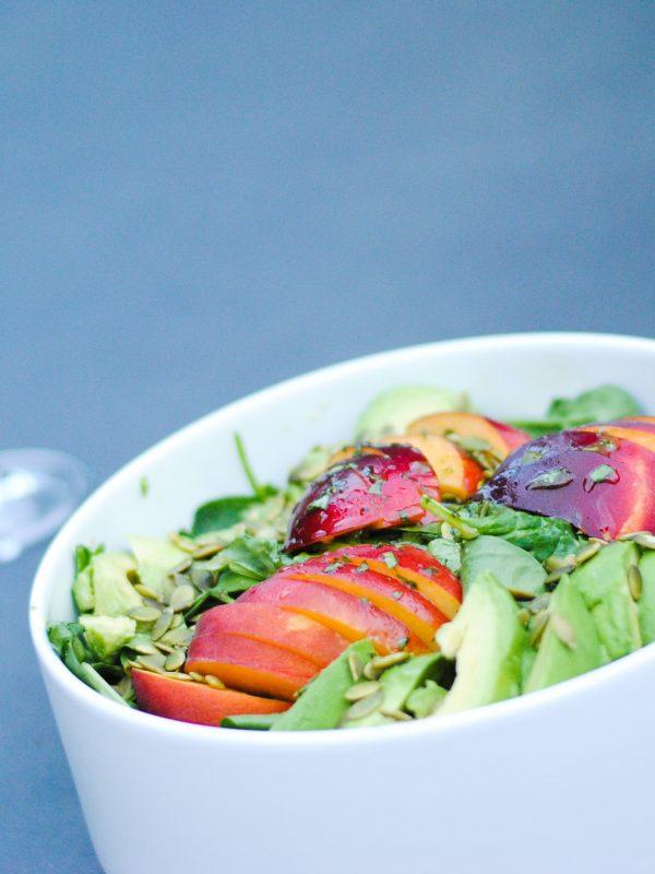 Peach and Avocado Salad Recipe